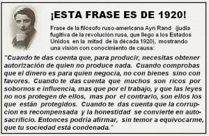 Frase de 1920
