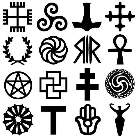 Símbolos paganos